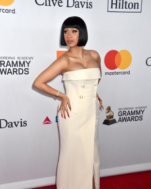 Cardi B at the Grammy Awards